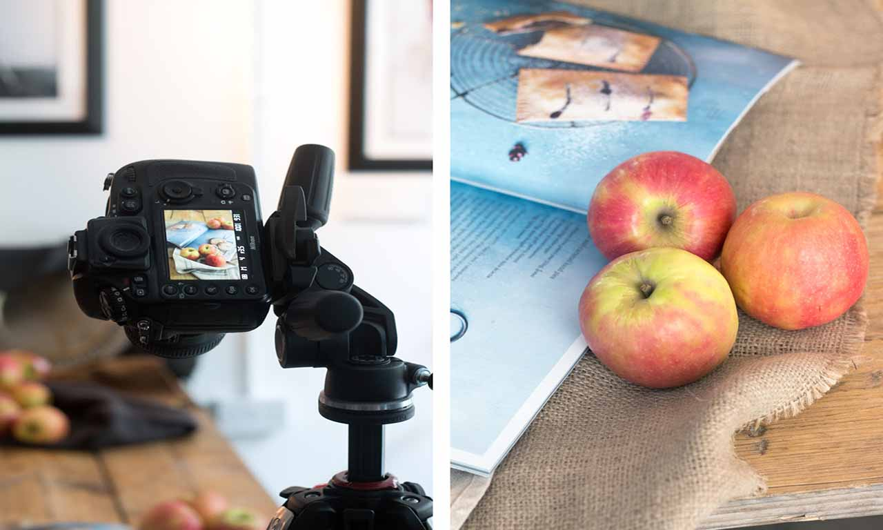 Giới thiệu các bước chụp ảnh quảng cáo sản phẩm